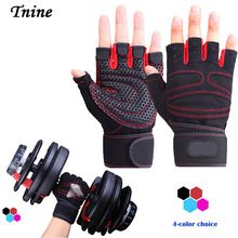 Tnine Shipping Gym Body Building Training Fitness Gloves Sports Equipment Weight lifting Workout Exercise breathable Wrist Wrap //Price: $US $3.39 & FREE Shipping //