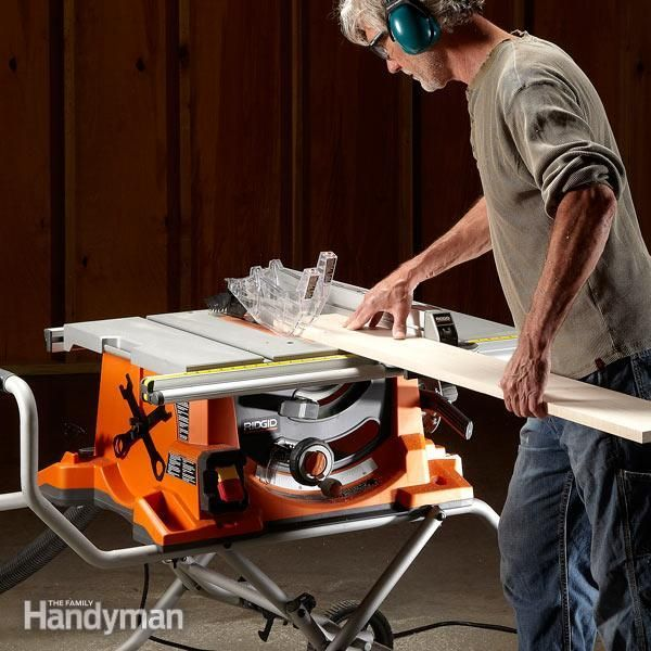 Our team of experts reviews seven portable table saws that are ideal for DIY home use. We'll help you choose the best table saw for your individual needs.