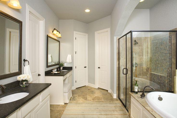 Black And Tan Bathroom: 17 Best Images About Gehan Homes Master Bathroom Gallery