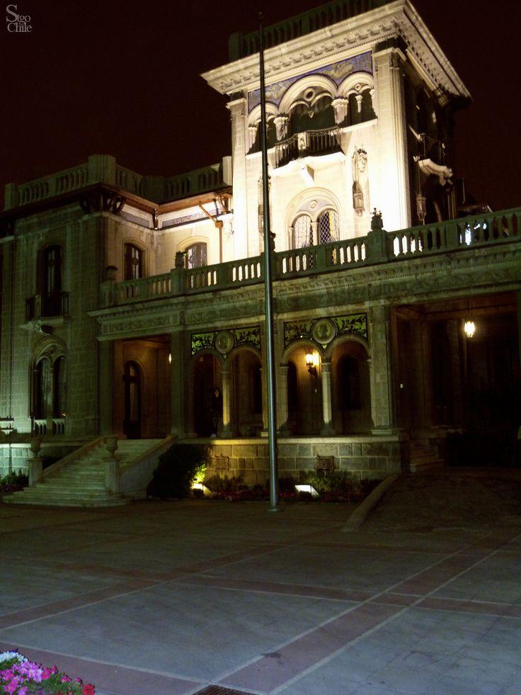 Palacio Falabella. Municipalidad de Providencia en Santiago de Chile.
