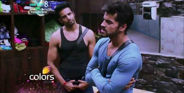 Highlights Bigg Boss 8 Upen Patel and Gautam Gulati's big fight makes the episode watchable