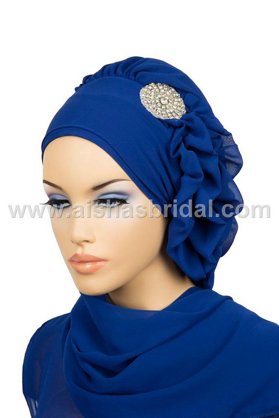 Ready To Wear Hijab  Code HT0118 by HAZIRTURBAN on Etsy, $28.00