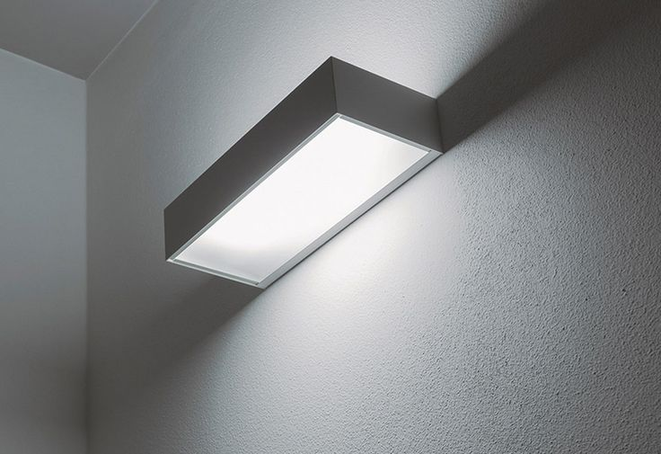 Eco wall light - white