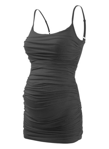 Surprisingly I loOove this! Fully Ruched Cami | Designer Maternity Top | Isabella Oliver
