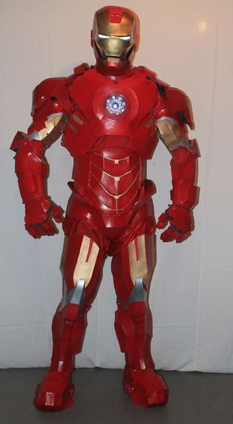 A pretty good step by step of DIY Iron Man armor.