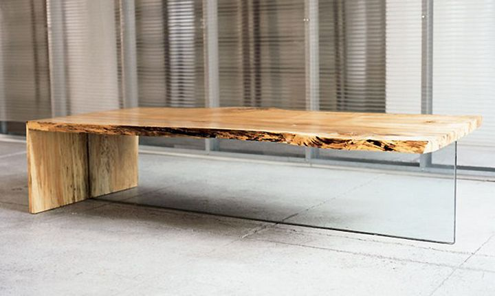 Google Image Result for http://retaildesignblog.net/wp-content/uploads/2011/06/Low-maple-table-with-glass-leg-from-John-Houshmand.jpg