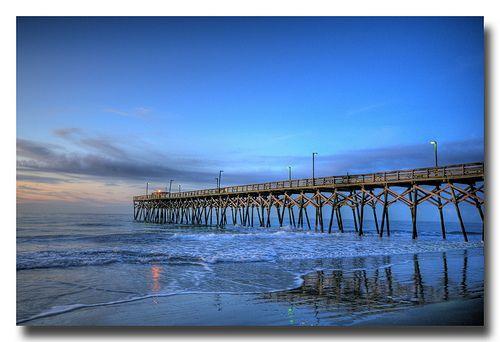 Surfside Beach, SC pier... our spot :)