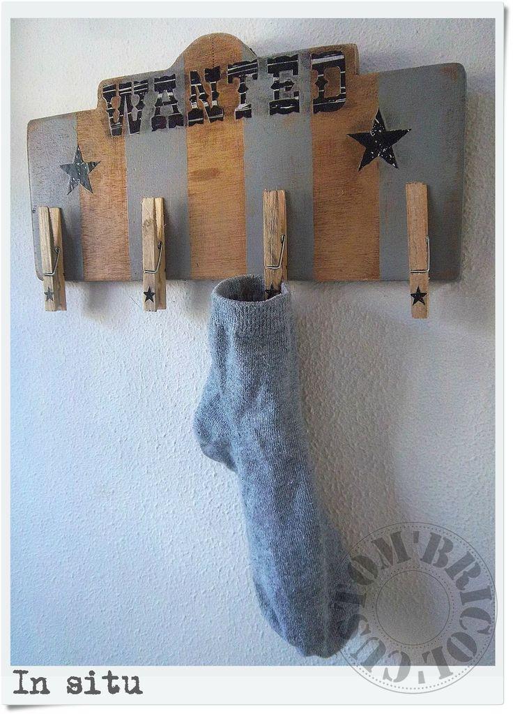 Piège à chaussettes - In situ