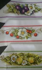 Resultado de imagem para barrados de pano de prato em tecido