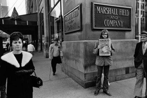 1971 Dergi satıcısı