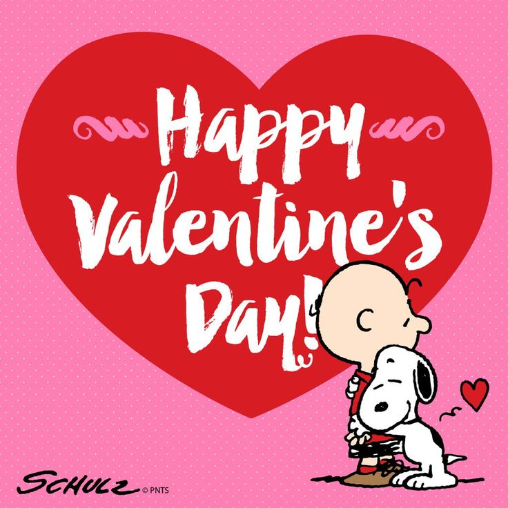 Happy Valentineu0027s Day With Charlie Brown U0026 Snoopy