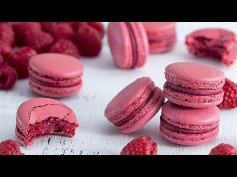 Malinové makarónky |  Recept na sladké pokušení, které si zamilujete!