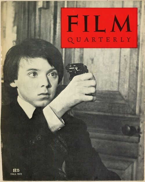 Bud Cort in 'Harold and Maude', Film Quarterly, 1971