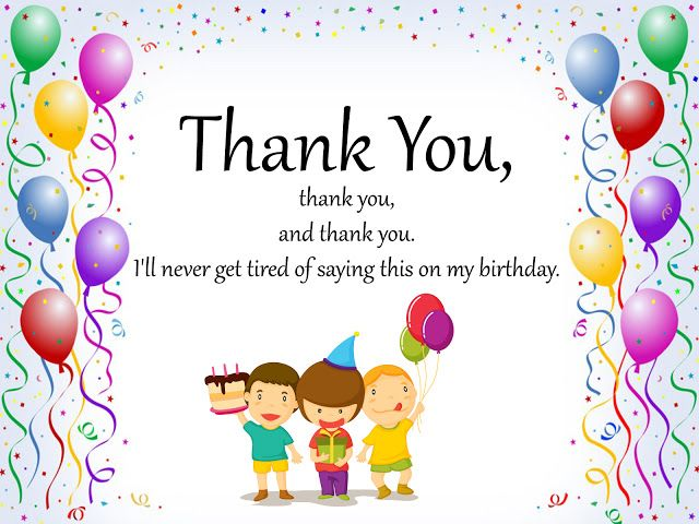 30 Thank You Notes For Birthday Wishes Thank You Messages For