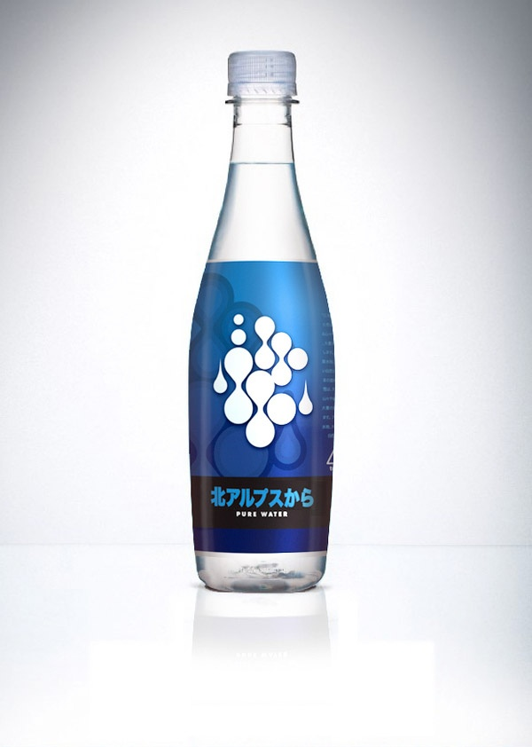 Love this water bottle #packaging. How about you? PD