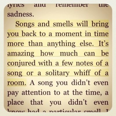 Songs and smells