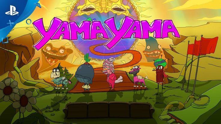 YamaYama el surreal juego para grupos llega hoy a PS4 #Gamers