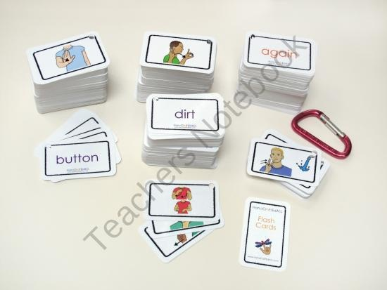 1000 ASL flashcards product from HandCraftEdASL on TeachersNotebook.com