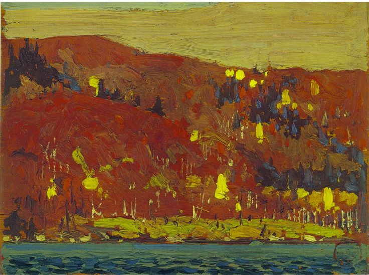 om Thomson Catalogue Raisonné | Red and Gold, Fall 1915