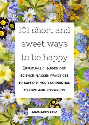 There are some essential components to #happiness that spiritual sages have expressed, science has researched, and personal experience has emphasized. This list is a kind of creative assortment of the various moving parts of #happy living. There's surely no shortage of ways to be happy; I hope you rediscover a favorite here. #waystobehappy