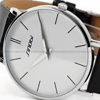 SINOBI Mens Ultrathin Design Black Leather Strap Fashion Sport Man Wrist Watch- http://www.siboom.co.uk/compare-prices-compare-prices-jewellery-watches_c109814.html.html?catt=compare-prices-jewellery-watches&k=Fashion+men+watches&ppa=3 For sale at this price again for  3 days 7 hours  e 1 hour Type Buy it now Price blocked until  07032015 175035   Condition New without tags    Place Lond
