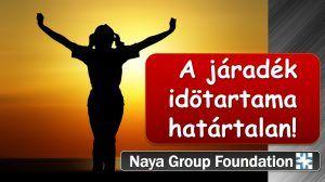A Naya Group Foundation CHF folyószámlája