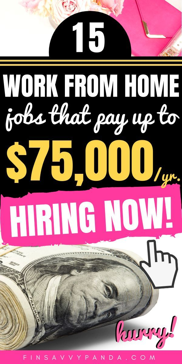 11 Real Work From Home Jobs That Make Money Online Work From