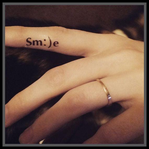Emoji temporal tatuajes tatuajes falsos emoji por SharonHArtDesigns