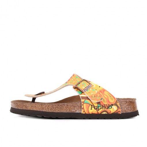 Papillio by Birkenstock Gizeh BF DD African Wax Gold #latestpickup #lpu #sneakers