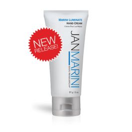 Jan Marini: Marini Luminate Hand Cream. Patent-pending formulation takes a multi-dimensional approach to targeting visible signs of aging on the hands
