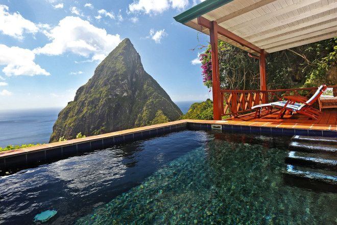 Saint Lucia and luxury at Ladera Resort