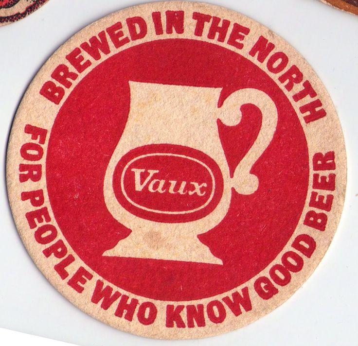 British beer beermats, Vaux brewery