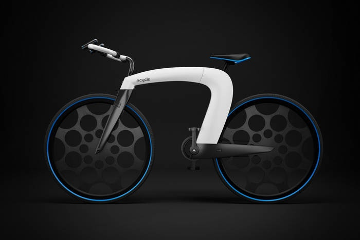 Behance nCycle E-bike:ready for your smartphone