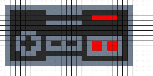 Nintendo Perler Bead Pattern | Bead Sprites | Misc Fuse Bead Patterns