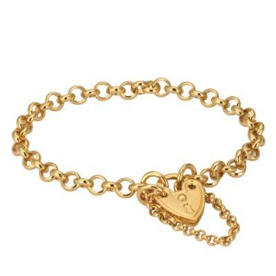 3220G Childs Locket Bracelet