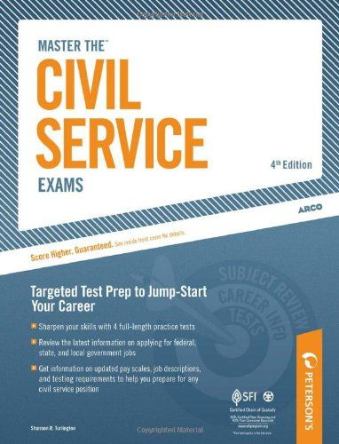 Bestseller Books Online Master The Civil Service Exam: Targeted Test Prep to Jump-Start Your Career Shannon R. Turlington $7.18  - http://www.ebooknetworking.net/books_detail-B005SN4SL6.html