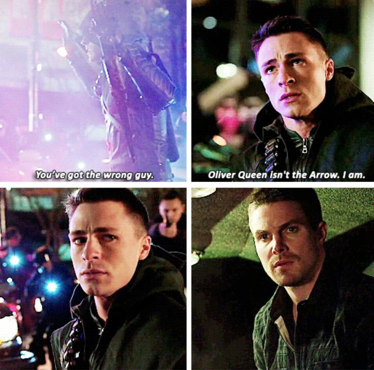 Arrow - Roy & Oliver #3x18