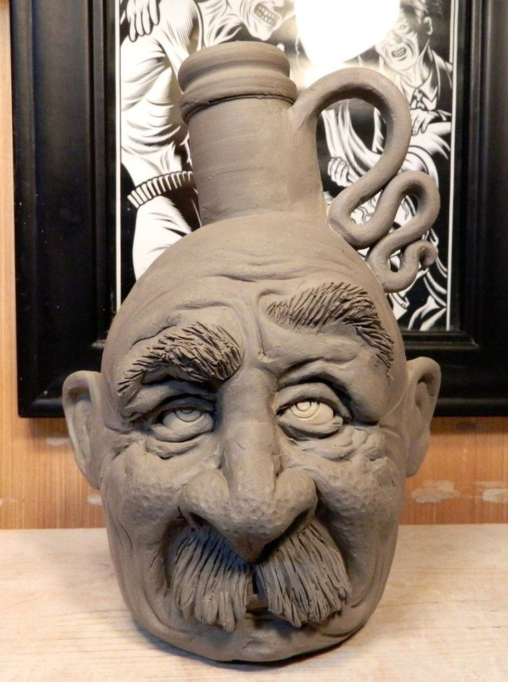 Another Mr. Mustache Jug- WIP by thebigduluth on DeviantArt