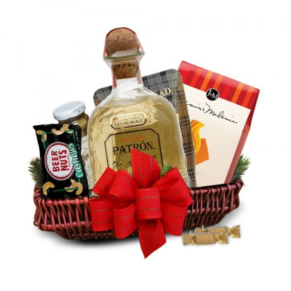 29 best liquor alcohol gift baskets images on pinterest alcohol patron silver tequila gift basket negle Image collections