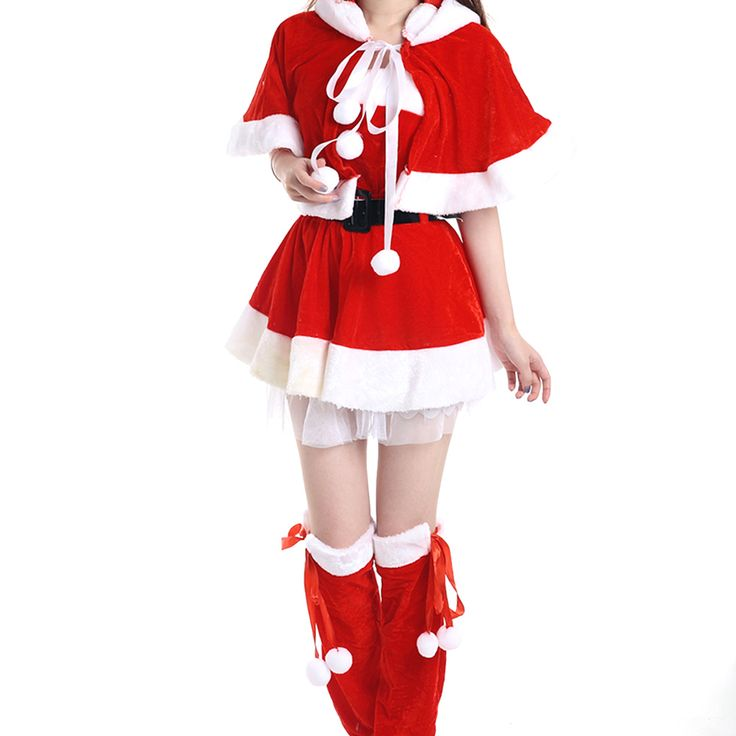 2016 Newest Sexy Christmas Costumes For Women Red Party Dress Christmas Cosplay Clothes♦️ SMS - F A S H I O N 💢👉🏿 http://www.sms.hr/products/2016-newest-sexy-christmas-costumes-for-women-red-party-dress-christmas-cosplay-clothes/ US $17.27