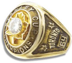 Toronto Maple Leafs - 1964 Stanley Cup Ring