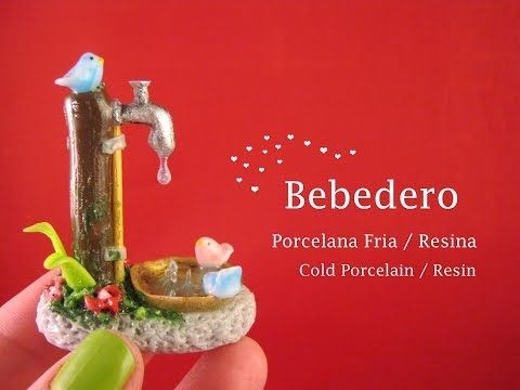Cascada en Porcelana Fria / Resina - Cold Porcelain / Resin - YouTube