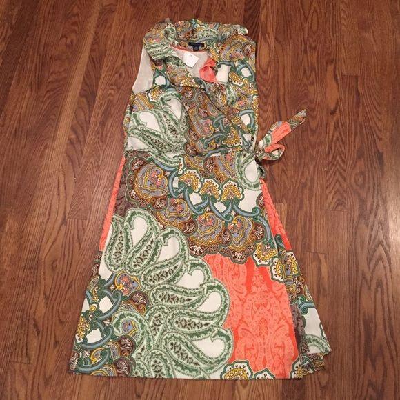 Retro Paisley Tommy Hilfiger Dress It's a beauty! Sorry, no trades 😔 Tommy Hilfiger Dresses