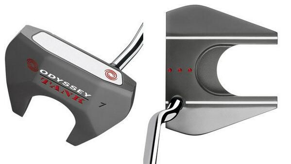 Odyssey Tank Putter. Counter balanced. It could become the future of putting. Embedded image permalink