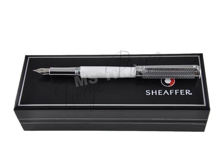 Pióro wieczne Sheaffer Intensity 9240 białe chrom Twoje Pióro - ekskluzywne artykuły piśmienne