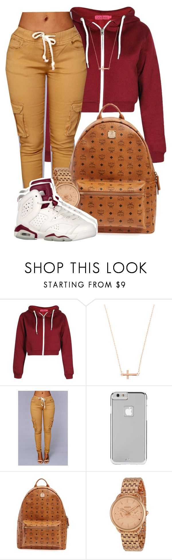 """"""" Buddy want a gram told his ahh to meet me halfway """" by mindlesspolyvore ❤ liked on Polyvore featuring ASOS, Case-Mate, MCM, FOSSIL, women's clothing, women, female, woman, misses and juniors"""