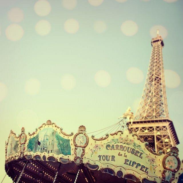 Carousel by Irene Suchocki