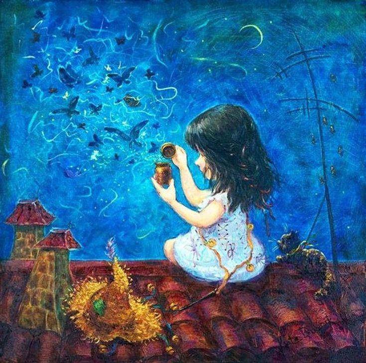 Рисунки Екатерины Дудник (часть 2) - Галерея искусств - Для души - Статьи - Школа радости