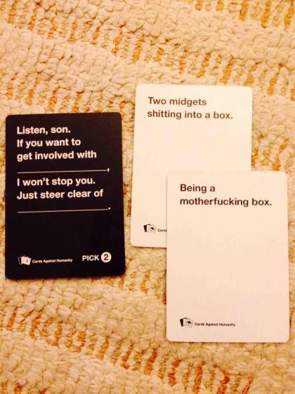 Best/worst cards against humanity - Album on Imgur