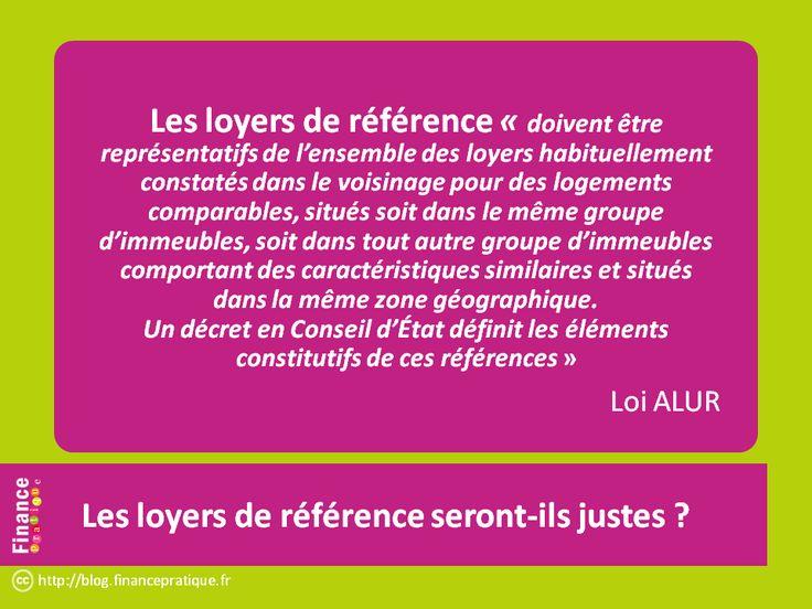 """Loi Alur (1) : encadrement des loyers. comment seront fixés les """"loyers médians de référence"""" qui limiteront les loyers ? Pas clair. Cause potentielle d'injustices et de litiges..."""